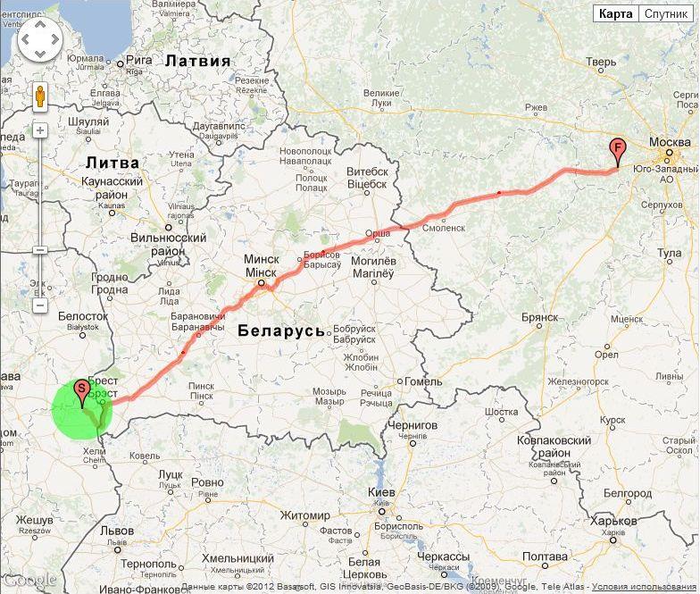 Москва смоленск сколько ехать на машине